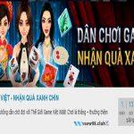 Dân chơi game Việt - Nhận quà xanh chín tại W88